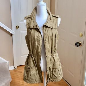 Lafayette 148 Safari/Military Style Vest/ Jacket